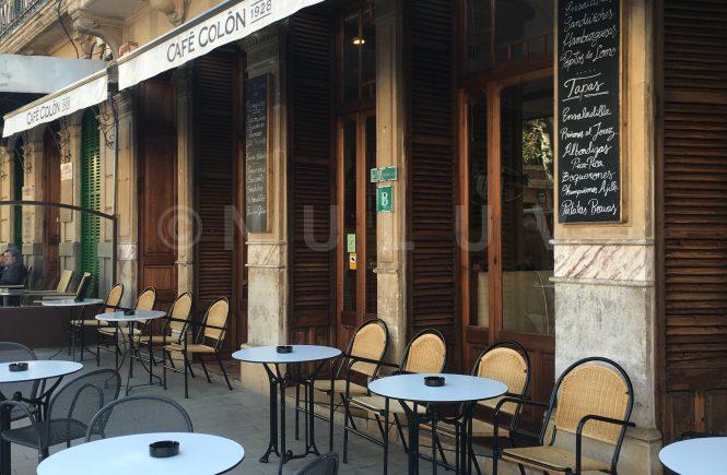 Llucmajor und Café Colon